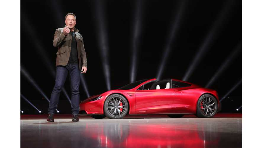 Data Shows Tesla Roadster Stole The Semi Show