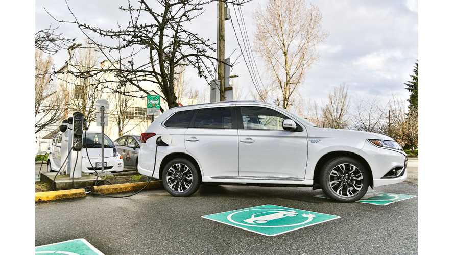 Mitsubishi Outlander PHEV Sales In 2018 Increased To 42,337