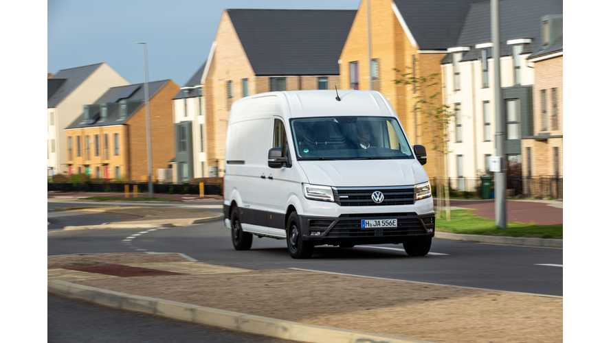 Volkswagen e-Crafter Won't Be Available In UK Until Mid-2021