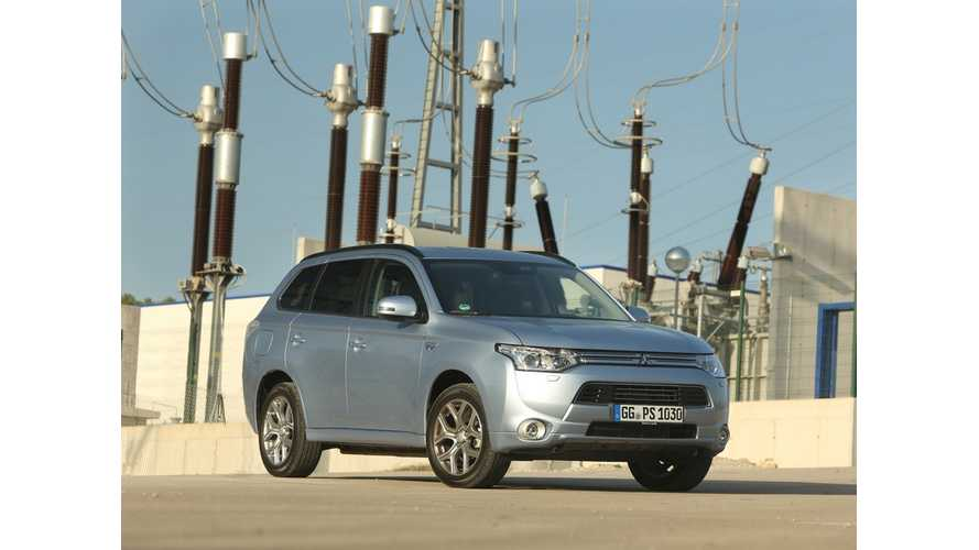 Mitsubishi Sold Almost 20,000 Outlander PHEVs In Europe In 2014