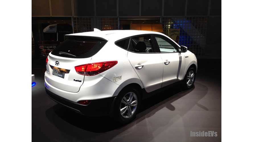 Hyundai To Slash Price Of Fuel Cell Tucson To Compete With Toyota Mirai
