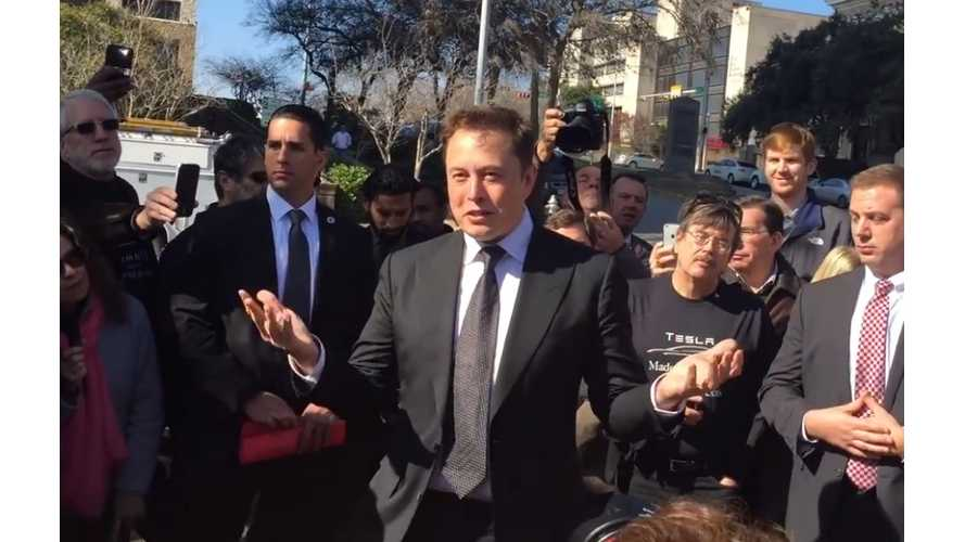 Tesla CEO Elon Musk At Texas State Capitol - Video Q&A