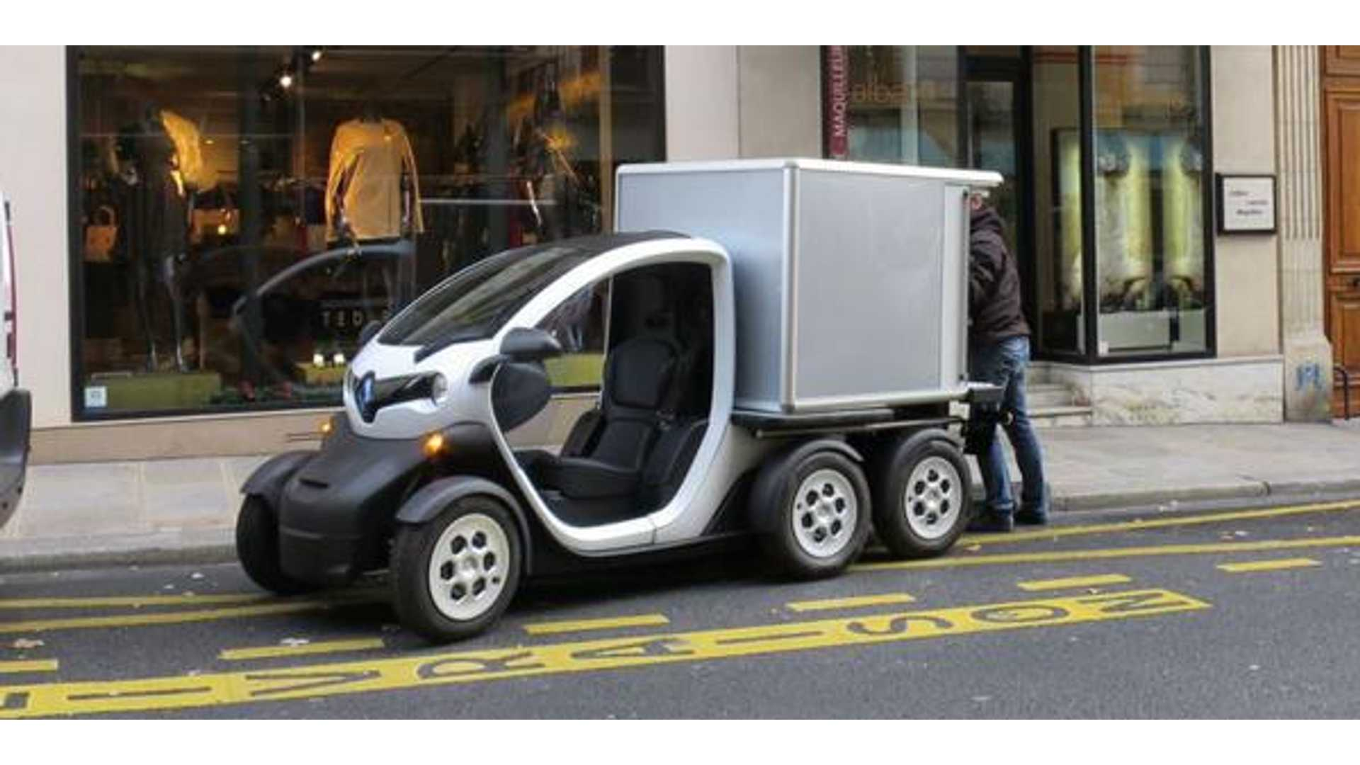 Renault Twizy Delivery Concept Spotted In France