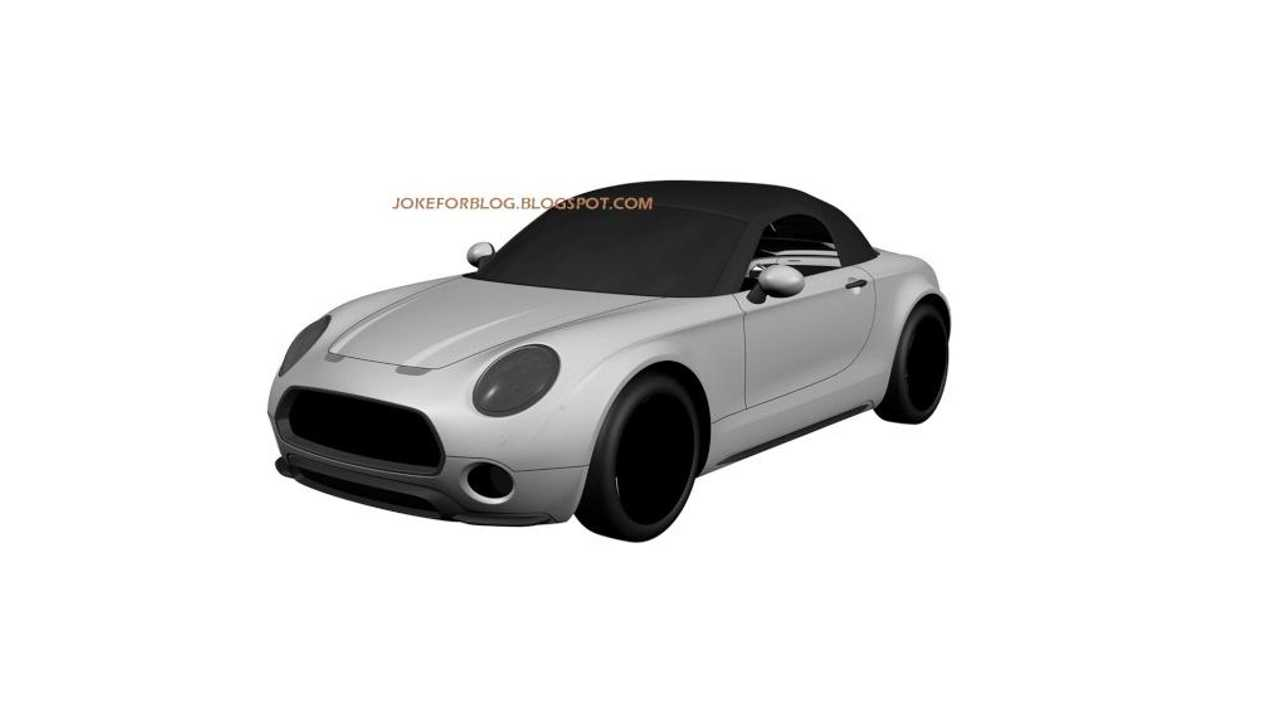 Mini Submits Patent Drawings For Superleggera-Inspired Roadster