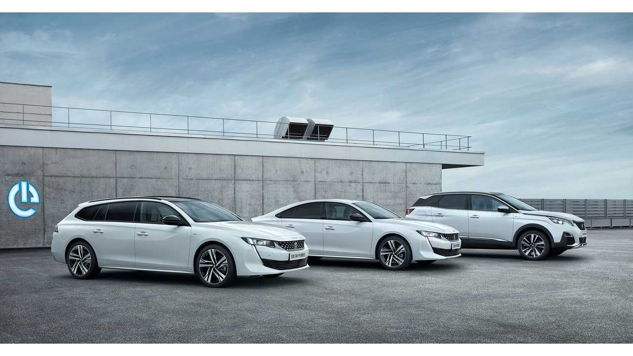 Peugeot Shows New Plug-In Hybrids: 3008, 508 & 508 SW