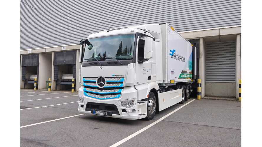 Mercedes-Benz eActros Sports A Refrigeration Unit