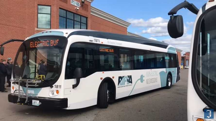 Rhode Island Buys 3 Proterra Electric Buses With Money From VW