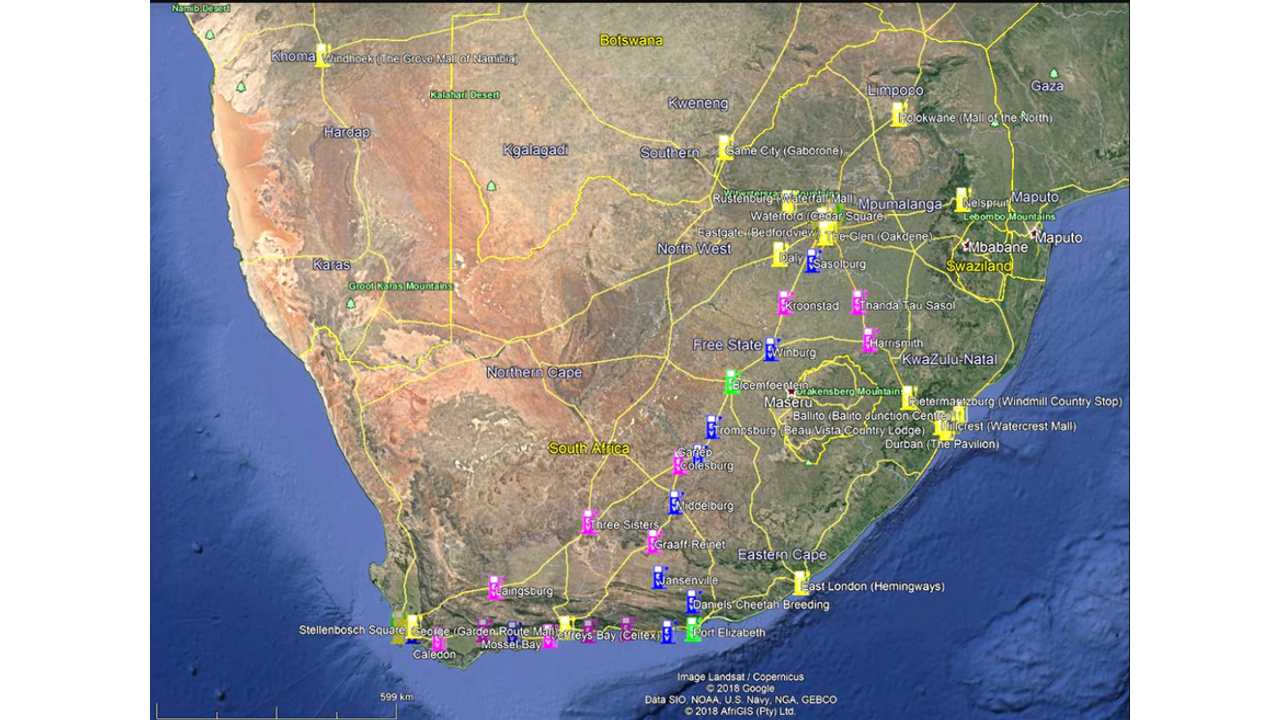 Alviva Road Charger Network South Africa Image 1
