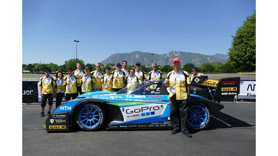 Team APEV with Rimac Automobili And Monster Sport Ready For 2016 Pikes Peak