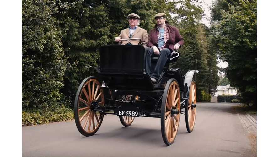 Hitting The Road In Two Vintage (1906 & 1907) Electric Cars - Video