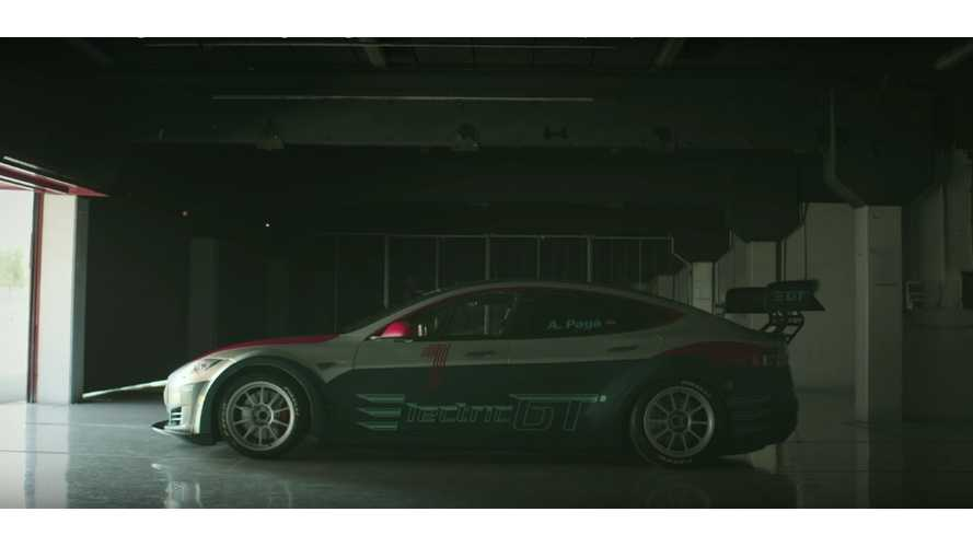 Electric GT Unveils Race-Ready Tesla Model S