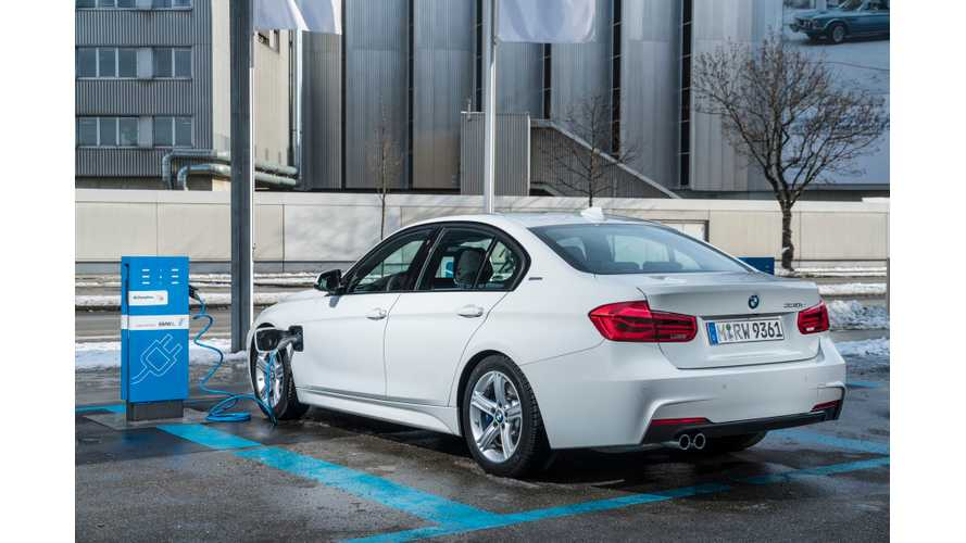 Plug-In Hybrid Showdown: BMW 330e, Audi A3 e-tron, VW Passat GTE And Volvo V60 D5