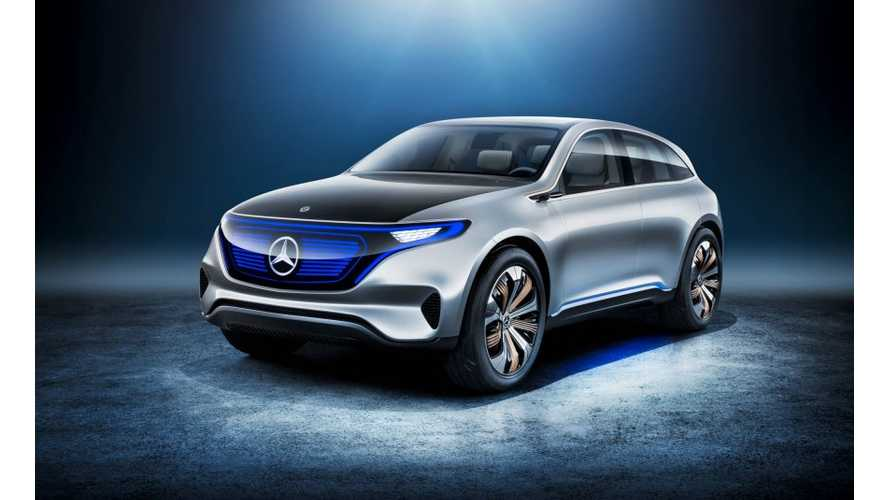 Mercedes-Benz Unveils Generation EQ Electric Concept - 70 kWh+ Battery, 310-Mile Range