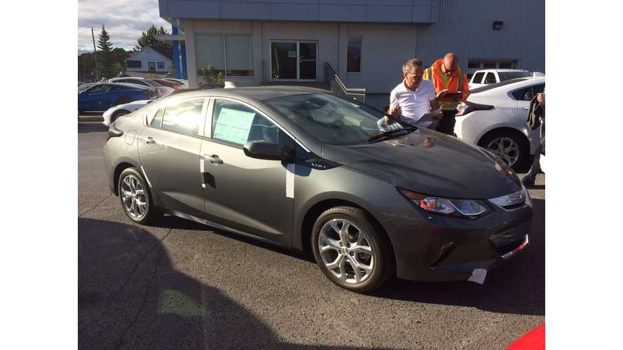 First 2016 Chevrolet Volts Arrive At Dealership...In Canada (Update for US)