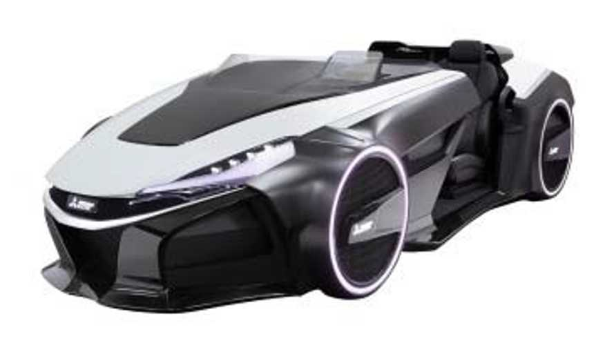 Mitsubishi Electric EMIRAI 3 xDAS Assisted-driving Concept Car At CES