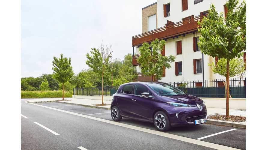 Plug-In Electric Car Sales In France Slightly Up In May