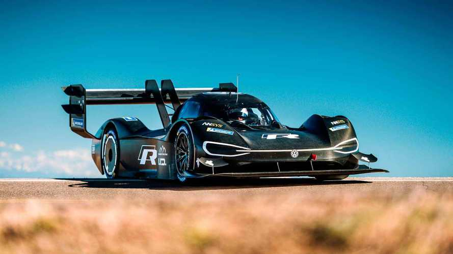 Watch Volkswagen I.D. R Race Up Pikes Peak