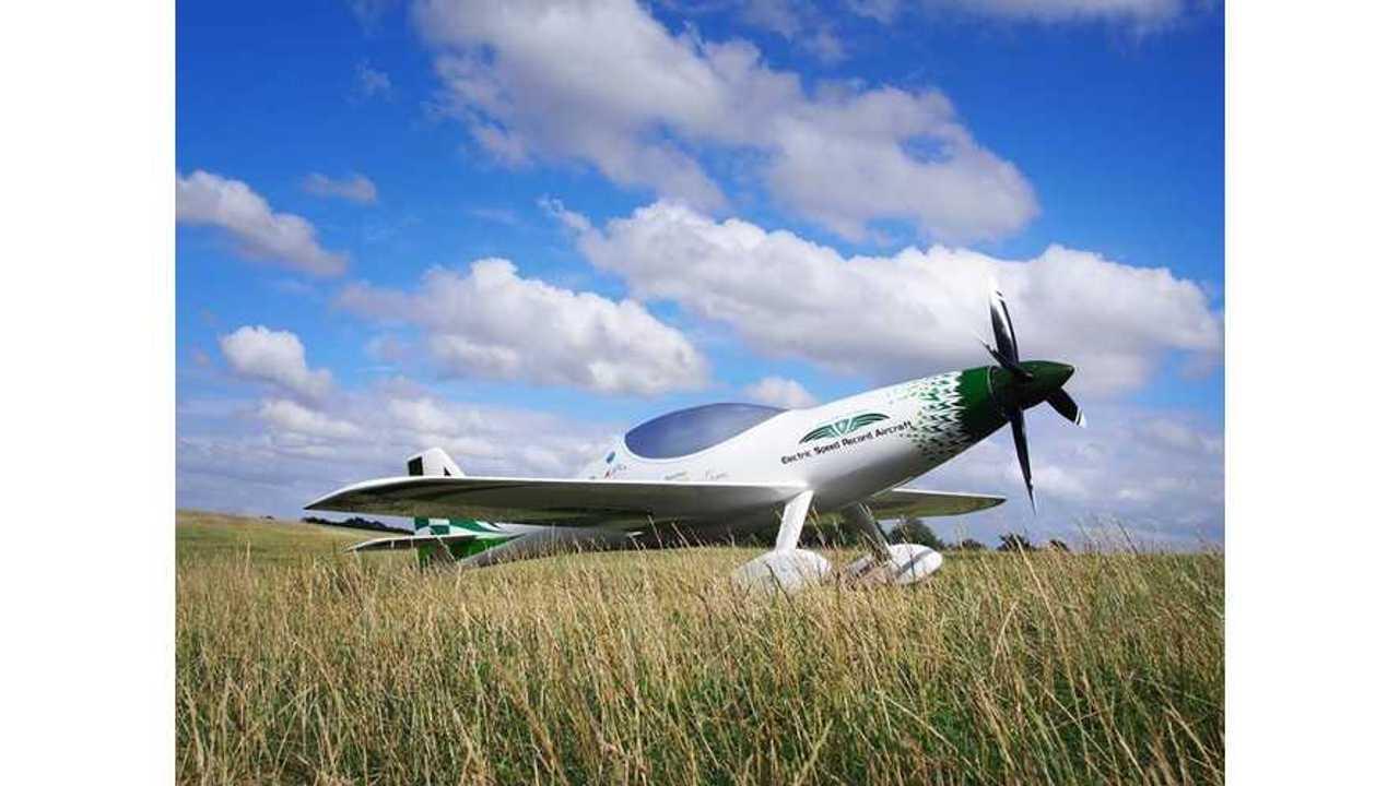 The Electroflight sport race plane Electric Lightning P1 E (code name: TEACO-BAT)