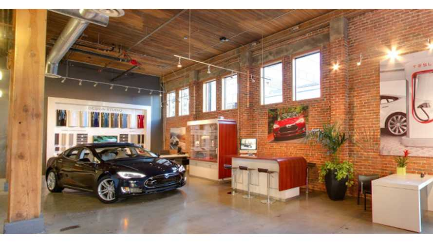 See Inside A Tesla Store In High Definition Via Google Maps