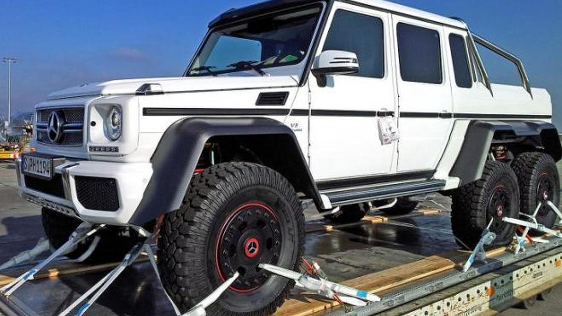 6x6 Mercedes Benz G63 Amg Production Confirmed Video
