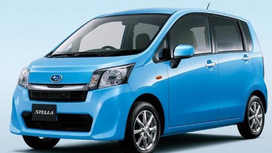 2013 Subaru Stella facelift revealed (JDM)