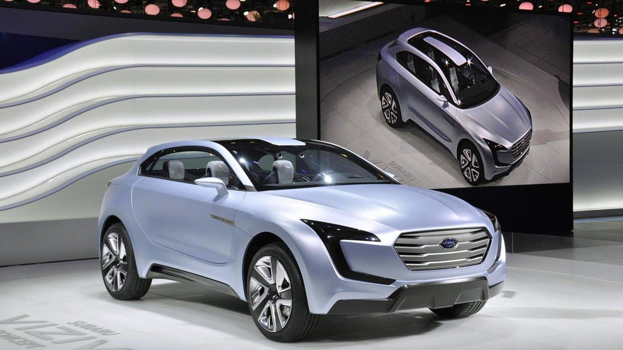Viziv's angular front fascia to be carried across Subaru lineup