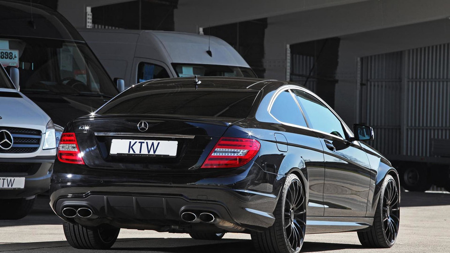 Mercedes-Benz C63 AMG by KTW Tuning has 518 bhp