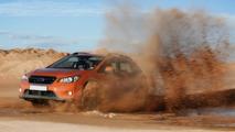 Subaru XV getting dirty 01.04.2013