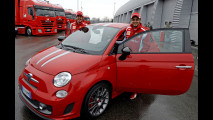 Abarth 695 Tributo Ferrari all'asta per Telethon