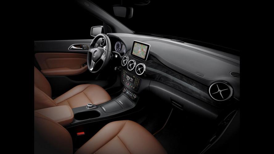 Nuova Mercedes Classe B: prima foto