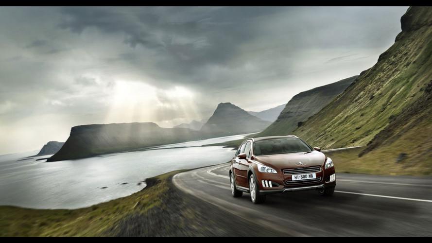 Peugeot 508 RXH: i prezzi