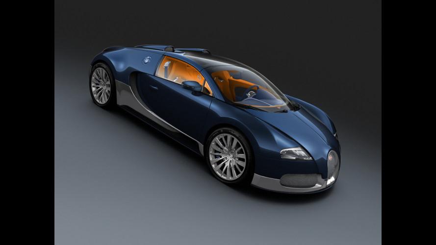 Bugatti Veyron Grand Sport per tre