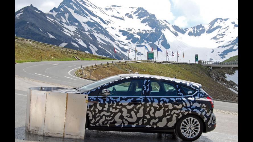 La nuova Ford Focus alla prova... delle Alpi