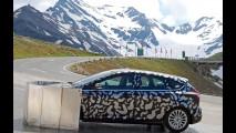 Nuova Ford Focus: test sul Grossglockner