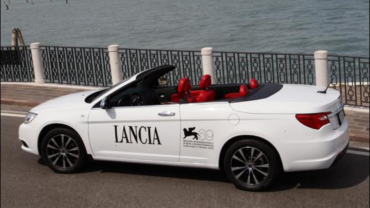 "[Copertina] - Lancia Flavia ""Red Carpet"" by Poltrona Frau"