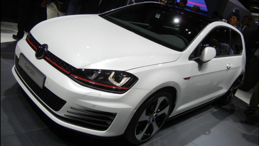 La nuova Golf GTI vista dal vivo