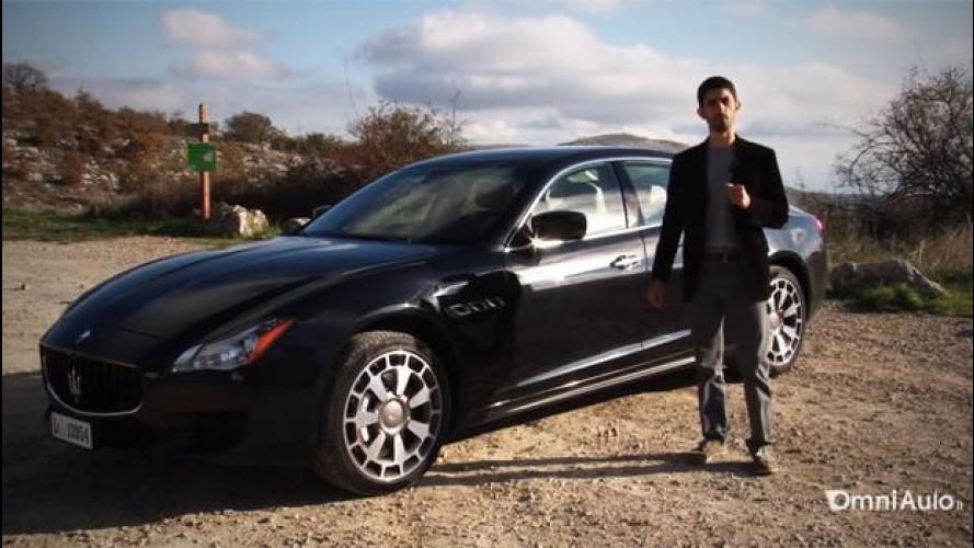 Nuova Maserati Quattroporte, la prova della berlina più veloce del mondo