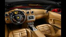Il cockpit della Ferrari California
