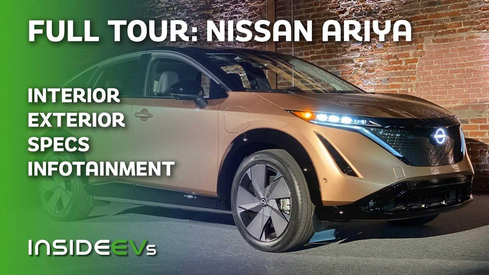 Insideevs Checks Out Nissan Ariya Electric Suv It S A Solid Crossover Ev