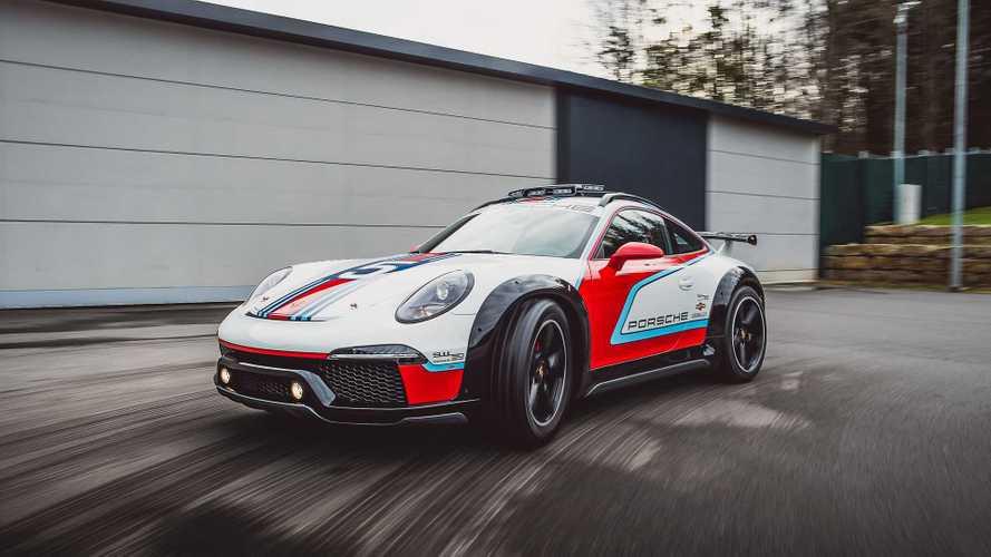 Porsche много лет держала в тайне 3-дверный Macan и внедорожный 911