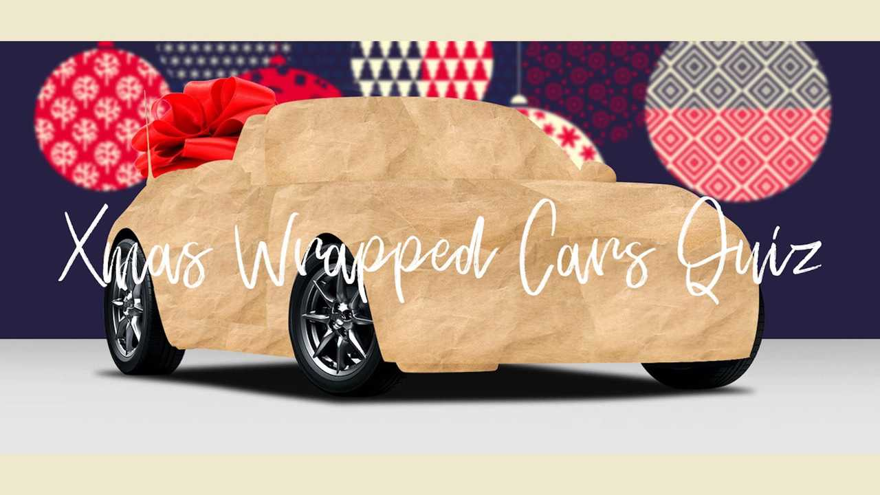 Wrapped Christmas Car Quiz