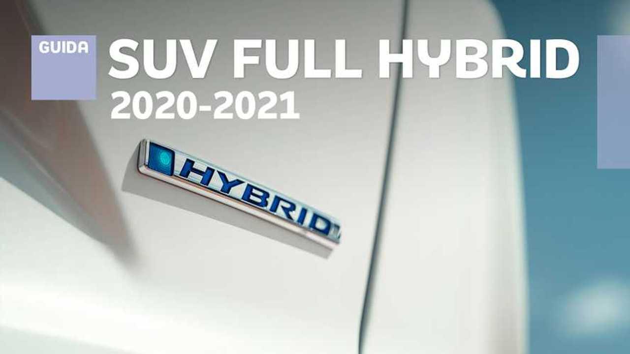 SUV full hybrid, guida 2020-2021