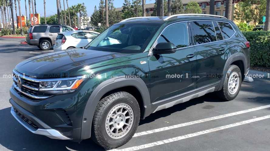2021 VW Atlas Basecamp Caught Looking Rugged In Real-World Photos