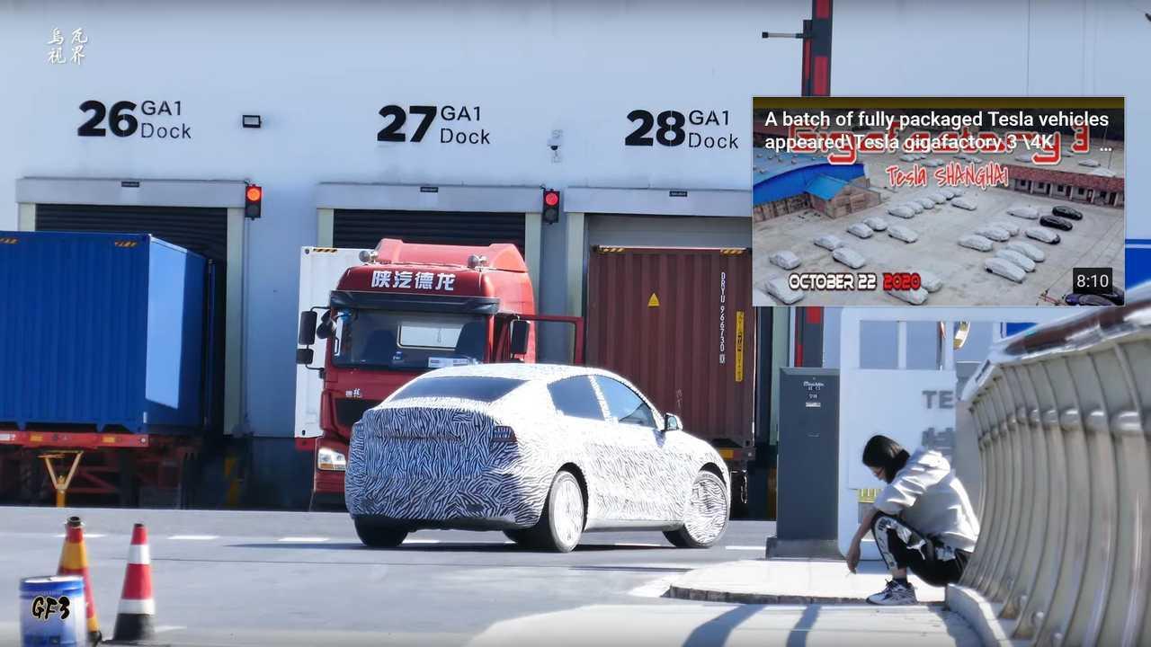 MIC Tesla Model Y has begun road testing (source:  WU WA)
