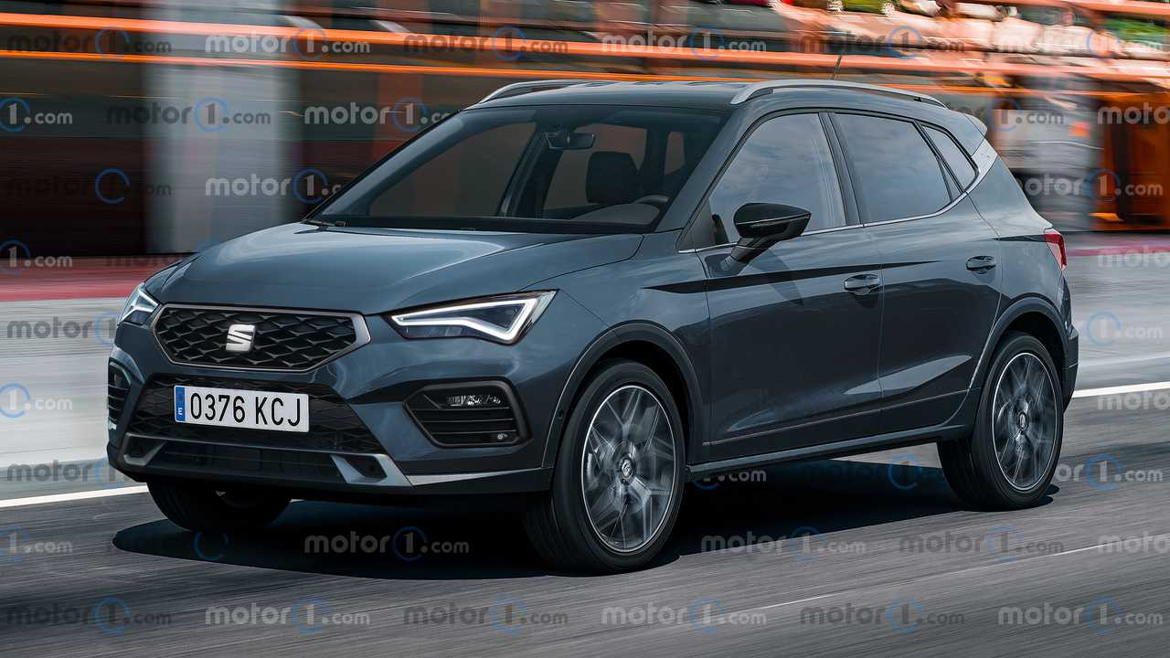 Render SEAT Arona 2021
