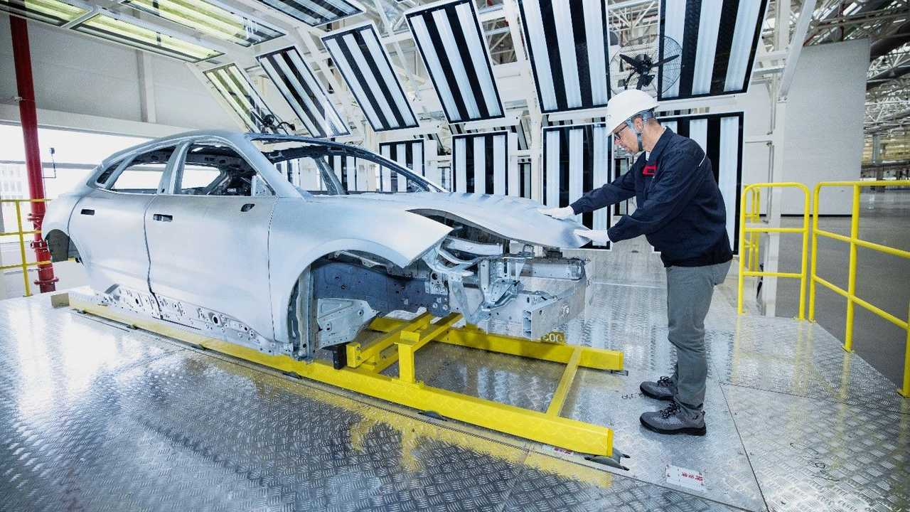 Lynk & Co Zero EV - the first production body-in-white (BIW)