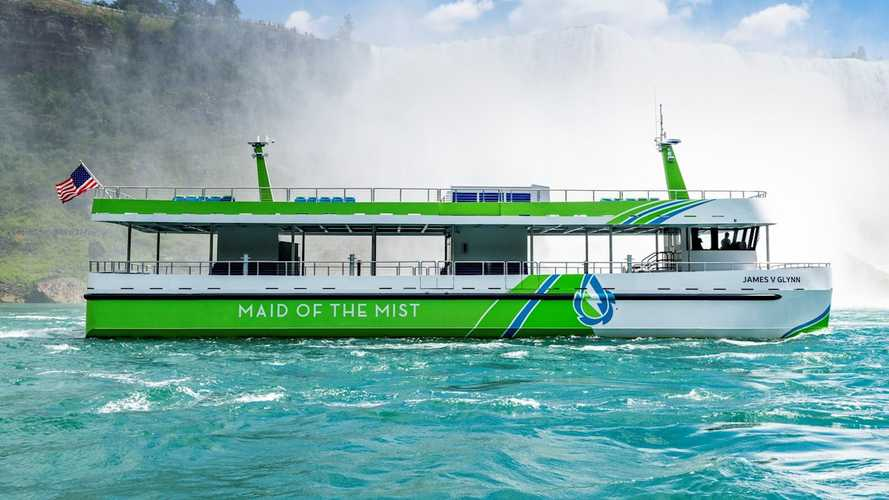 Maid Of The Mist Ferries Are Electric And Truly Zero-Emission