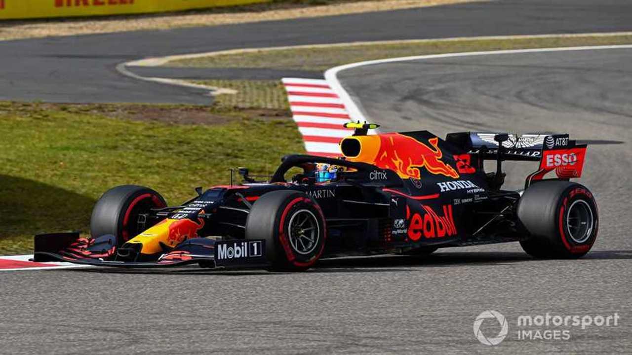 Alex Albon at Eifel GP 2020