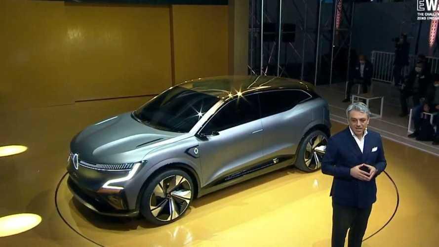 Renault Mégane eVision é revelado como prévia de crossover 100% elétrico