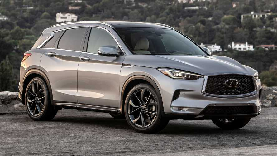 2021 Infiniti QX50 Is Latest Vehicle to Get A Black Appearance Package